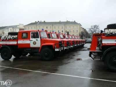 Новые пожарные автомобили для